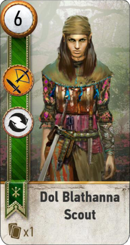 File:Tw3 gwent card face Dol Blathanna Scout 3.png