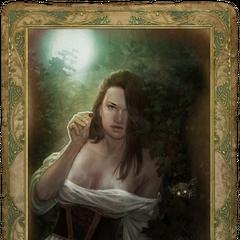 Celina's romance card.
