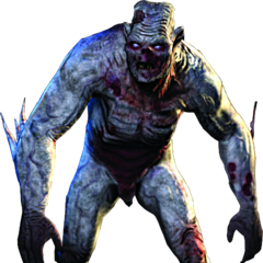 Render of angry alghoul (Witcher (PC))