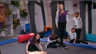 Samantha's team with Jessie and Ben