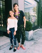 Kaitlyn with Lindsey Shaw