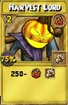 Harvest Lord Treasure Card