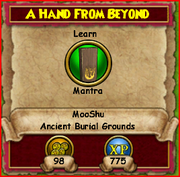 A Hand from Beyond