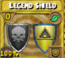 Legend Shield Treasure Card