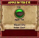 Q WC Apple in Yer Eye 1