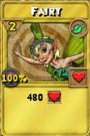 Fairy Treasure Card