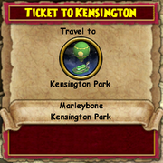 Ticket to Kensington