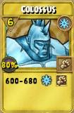 Colossus Treasure Card