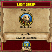 Quest MS Lost Sheep