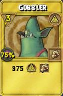 Gobbler Treasure Card