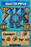 Mass ice prism