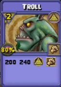 Troll Item Card