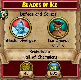 Blades of Ice QKT