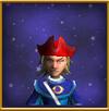 Smoldering Cap of Ash Male