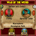 War of the Weird