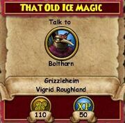 Q GH That Old Ice Magic
