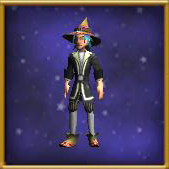 Obligatory cloak Male