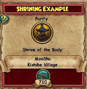 Shrining Example