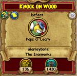 MB Q Knock on Wood 3