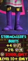 Stormcaller's Boots female