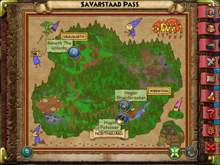 Savarstaad Pass Map