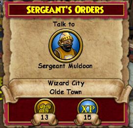 Sergeant's Orders