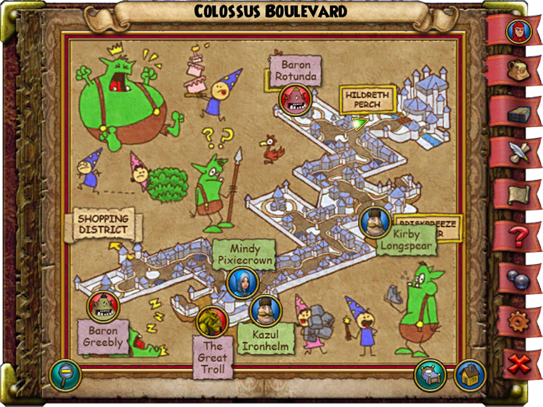 Colossus Boulevard Smith Map