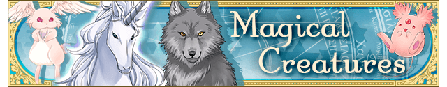 Magical creatures banner