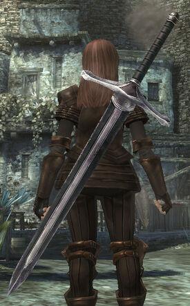 2HSword Fighters Bastard Sword
