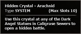 Arachnid info