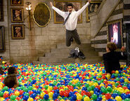 Invasion of plastic balls