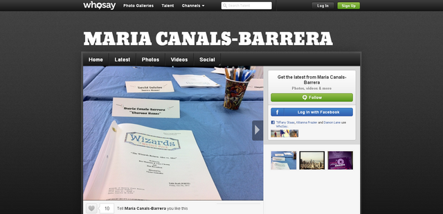 File:Maria Canals Barrera s photo We re back Wizards table r... on WhoSay.png