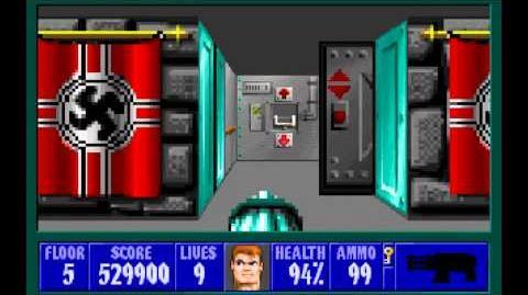 Wolfenstein 3D (id Software) (1992) Episode 1 - Escape From Castle Wolfenstein (Complete) HD
