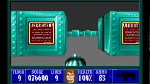 Wolfenstein 3D (id Software) (1992) Episode 2 - Operation Eisenfaust - Floor 9 HD