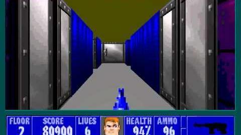 Spear Of Destiny 2 - Return To Danger - Floor 2 (Submarine Pen 2)