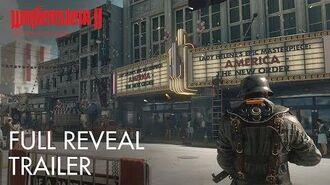 Wolfenstein II The New Colossus – E3 2017 Full Reveal Trailer