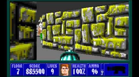 Wolfenstein 3D (id Software) (1992) Episode 2 - Operation Eisenfaust - Floor 7 HD