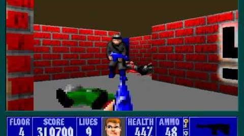 Spear Of Destiny 2 - Return To Danger - Floor 4 (Submarine Pen 4)