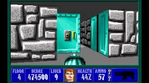 Wolfenstein 3D (id Software) (1992) Episode 6 - Confrontation (Complete) HD