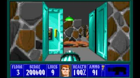 Spear of Destiny (id Software) (1992) Floor 3 HD