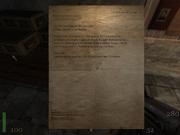 RtCW Letter