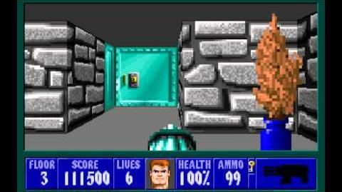 Wolfenstein 3D (id Software) (1992) Episode 3 - Die, Fuhrer, Die! - Floor 3 HD