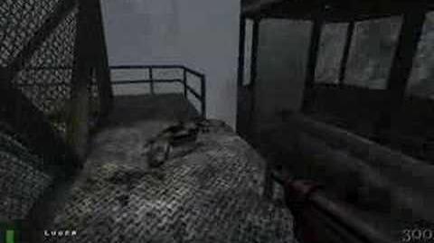 Return to Castle Wolfenstein map 3 - Tram Ride