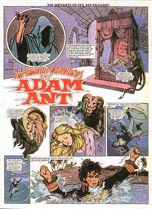 Adam ant gray