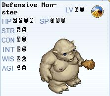 Defensive Mosnter
