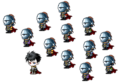Keisatsu Rida and his soldiers