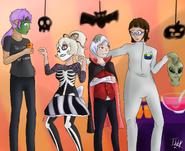 Halloween OCs