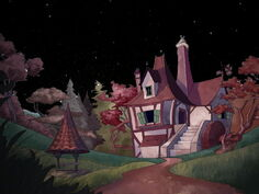 Belle's house at house