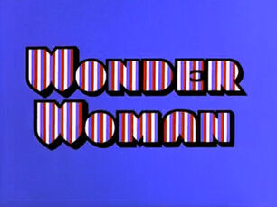 Wonder Woman 1974 title card