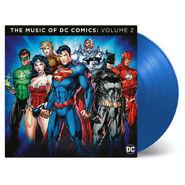 Music dccomics vol2 vinyl